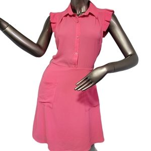 Monteau Los Angeles Pink Spring dress Size Small
